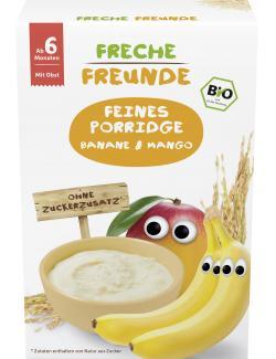 Freche Freunde Feines Porridge Banane & Mango