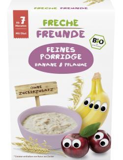 Freche Freunde Feines Porridge Banane & Pflaume