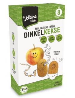 Die kleine Küche Biologische Baby Dinkel Kekse