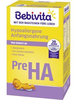 Bebivita Pre Ha Hypoallergene Anfangsnahrung
