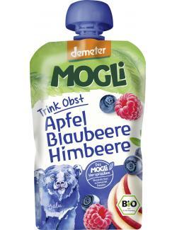 Mogli Demeter Trinkobst Apfel Blaubeere Himbeere
