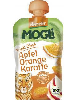 Mogli Demeter Trinkobst Apfel Orange Karotte
