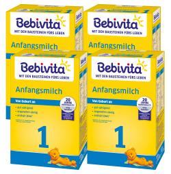 Bebivita Anfangsmilch 1 von Geburt an