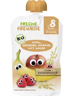 Freche Freunde Quetschie Apfel-Erdbeere-Banane mit Hafer