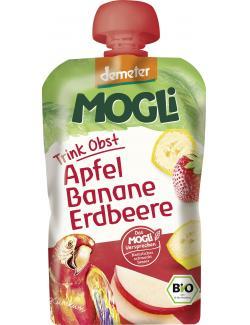 Mogli Demeter Trinkobst Apfel Banane Erdbeeree