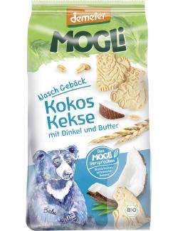Mogli Demeter Naschgebäck Kokos Kekse mit Dinkel und Butter