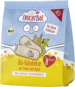 FruchtBar Bio Babykekse mit Dinkel und Apfel