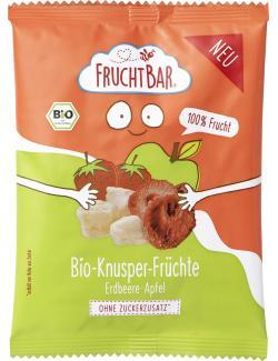 FruchtBar Bio Knusper-Früchte Erdbeere-Apfel