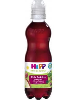 Hipp Bio für Kinder Rote Früchte mit stillem Mineralwasser