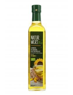 NaturWert Bio Sonnenblumenöl kaltgepresst