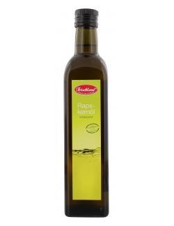 Frischland Rapskernöl kaltgepresst (500 ml) - 4001123106286