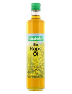 Seitenbacher Bio Rapsöl (500 ml) - 4008391086111
