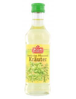 Kunella Gewürztes Pflanzenöl Kräuter MHD 01.09.18