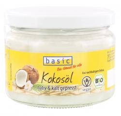 Basic Kokosöl nativ & kalt gepresst