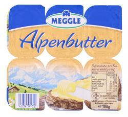 Meggle Alpenbutter (6 x 16,70 g) - 40349152