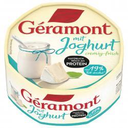 Géramont mit Joghurt