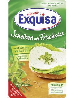 Exquisa Scheiben mit Frischkäse mediterrane Kräuter