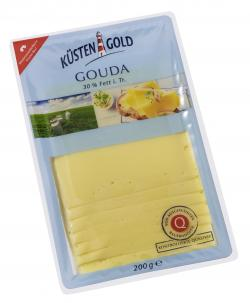 Küstengold Gouda light (200 g) - 4000436502082