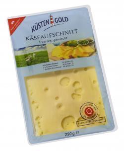 Küstengold Käseaufschnitt light 3 Sorten (250 g) - 4000436544587