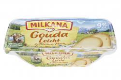 Milkana Schmelzkäse mit Gouda leicht (200 g) - 4045357069481