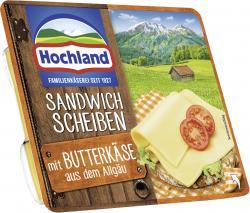 Hochland Sandwich Scheiben mit Butterkäse