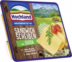 Hochland Sandwich Scheiben mit Gouda