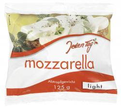 Jeden Tag Mozzarella light