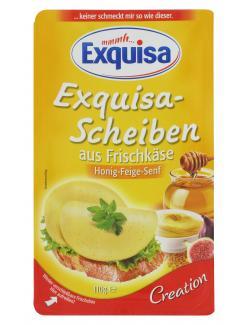 Exquisa Scheiben aus Frischkäse Honig-Feige-Senf (110 g) - 4019300154920