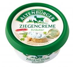 Der Grüne Altenburger Ziegencreme Kräuter