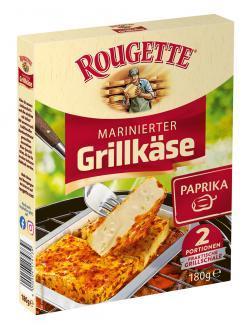Rougette marinierter Grillkäse Paprika
