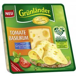 Grünländer Tomate Basilikum
