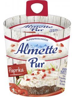 Almette Pur Alpenfrischkäse Paprika (125 g) - 4002671149169