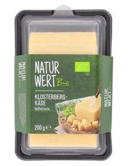 NaturWert Bio Klosterbergkäse (200 g) - 4250780319960
