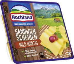Hochland Sandwich Scheiben mit Bergkäse