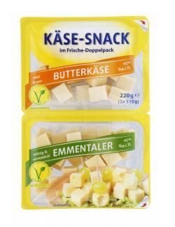 Bonifaz Kohler Käsewürfel Butterkäse und Emmentaler