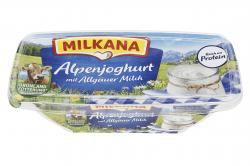 Milkana Schmelzkäse mit Alpenjoghurt