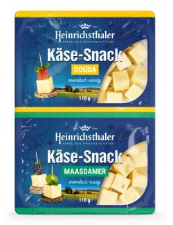 Heinrichsthaler Käse-Snack Gouda + Maasdamer