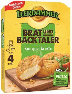 Leerdammer Brat-und Backtaler Knusper-Kruste