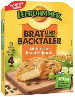 Leerdammer Brat-und Backtaler Kürbiskern-Kräuter-Kruste