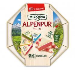 Milkana Alpenpur Portionen Vielfalt