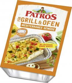 Patros für Grill und Ofen mediterranes Gemüse
