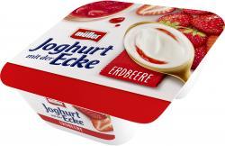 Müller Joghurt mit der Ecke Schlemmer Erdbeere & cremiger Joghurt