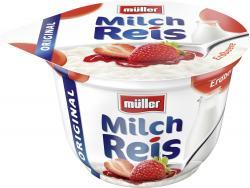 Müller Milchreis Original Erdbeere (200 g) - 4025500021207