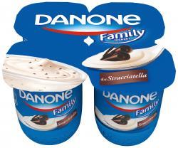 Danone Family Joghurt Stracciatella (4 x 125 g) - 4009700009005