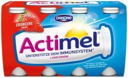 Danone Actimel Erdbeere