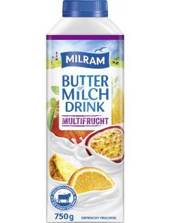 Milram Buttermilch Drink Multifrucht (750 g) - 4036300059437