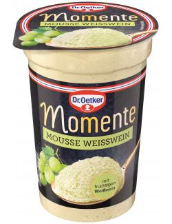 Dr. Oetker Momente Mousse Weißwein