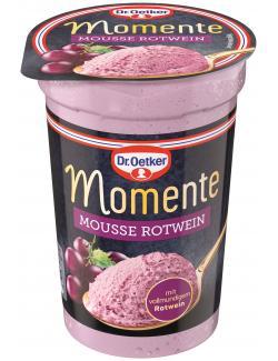 Dr. Oetker Momente Mousse Rotwein