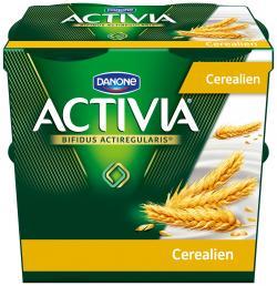 Danone Activia Cerealien (4 x 125 g) - 4009700018106