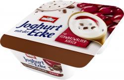 Müller Joghurt mit der Ecke Schlemmer Schwarzwälder Kirsch & Cremiger Joghurt